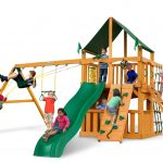Chateau Clubhouse w/ Sunbrella® Canvas Forest Green Canopy