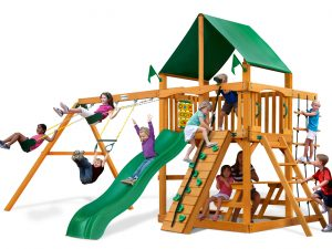 Chateau Swingset Delux GreenVinyl w