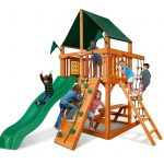 Chateau Tower w/ Sunbrella® Canvas Forest Green Canopy