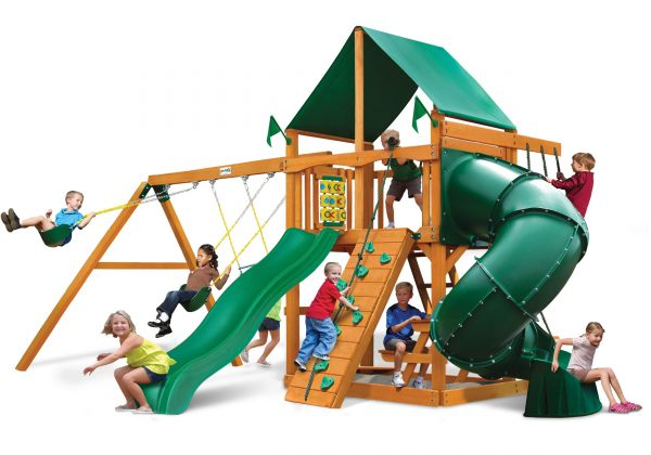 Mountaineer Swing Set GreenVinyl w
