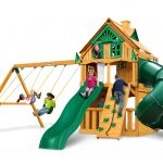 Mountaineer Clubhouse Treehouse w/ Fort Add-on