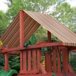 Sunbrella® Brannon Redwood Canopy