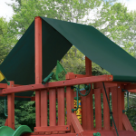 Sunbrella® Canvas Forest Green Canopy